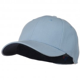 Low Profile Washed Flex Cap - Light Blue