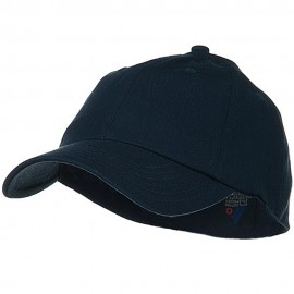 Light Brush Twill Fitted Cap - Navy
