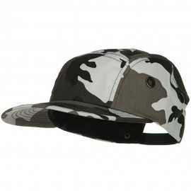 5 Panel Camouflage Twill Cap - City