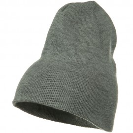 Big Stretch Plain Classic Short Beanie
