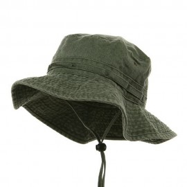Youth Fishing Hat (2) - Olive