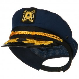 Cotton Yacht Emblem Cap