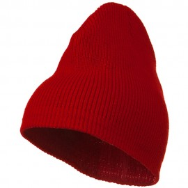 Rib Beanie with Bottom Band
