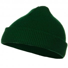 Infant Knit Cuff Beanie - Forest Green