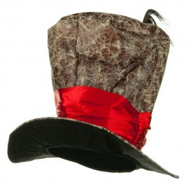 Top Hats - Brown Red
