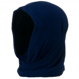 Motley Tube Fleece Spandex - Navy