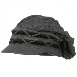 Big New Wave Rasta Beanie Visor