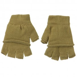 Double Layer Fingerless Glove