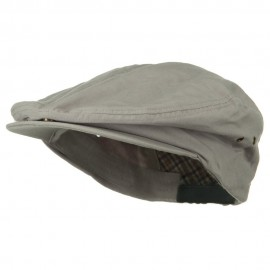 Oversize Washed Canvas Ivy Cap