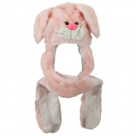 SW Long Mitten Animal Hat - Rabbit