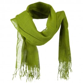 Solid Viscose Long Scarf