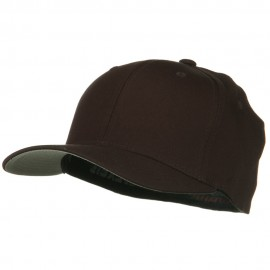 V-Flexfit Cotton Twill Cap - Brown