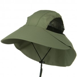 UV Large Bill Flap Cap