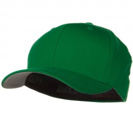 Wooly Combed Twill Flexfit Cap-Pepper Green