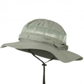 UV 50+ Side Mesh Talson Bucket Hat - Grey