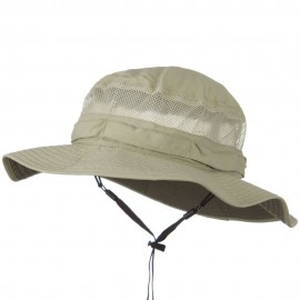 UV 50+ Side Mesh Talson Bucket Hat - Khaki