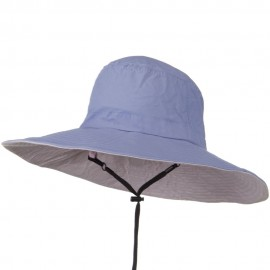 UPF 50+ Wide Brim Talson Bucket Hat - Purple