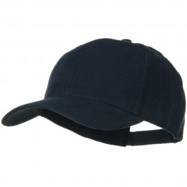 Brushed Bull Denim Low Profile Cap - Navy