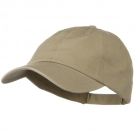 Deluxe Garment Washed Cotton Twill Cap - Khaki