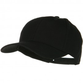 Solid Cotton Twill Low Profile Snap Cap