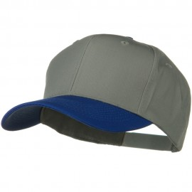 Two Tone Cotton Twill Pro Style Cap
