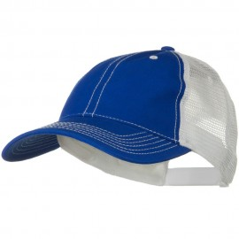 2 Tone Superior Garment Washed Cotton Mesh Back Cap