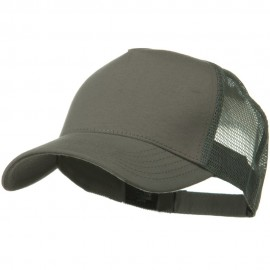 Solid Comfy Cotton Jersey 5 Panel Mesh Back Cap
