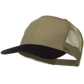 Two Tone Cotton Twill Mesh Prostyle Cap
