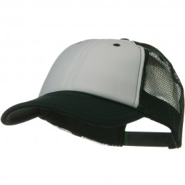 Two Tone Polyester Foam Front Mesh Back Cap