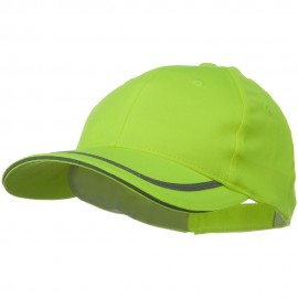 6 Panel Poly Twill Safety Cap