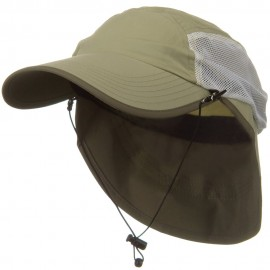 UV 50+ Talson Short Flap Cap - Khaki