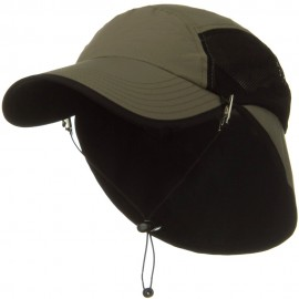 UV 50+ Talson Short Flap Cap - Olive