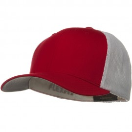 Flexfit Mesh Cotton Twill Trucker 2 Tone Cap