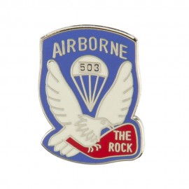 US Army Airborne Cloisonne Military Pins - 503 INF