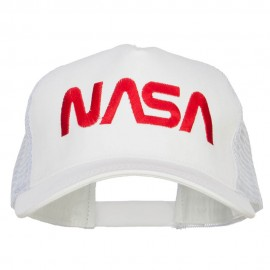 NASA Letter Embroidered Big Size Trucker Cap