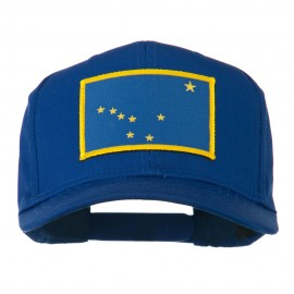 Alaska State High Profile Patch Cap - Royal