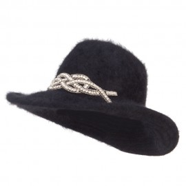 Angora Cowboy Hat with Decoration