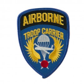 Air Borne Embroidered Military Patch - Trooper Carrier