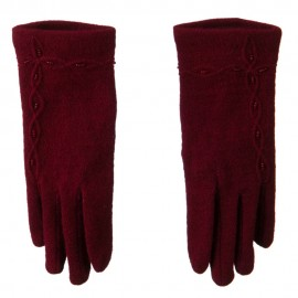 Across Chain Bead Accent Glove