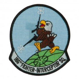 Air Force Circular Shape Military Large Patch - Interceptor SQ