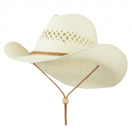 Adjustable Chin Strap Cowboy Hat