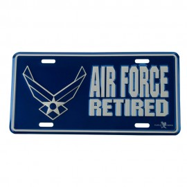 Air Force 3D Car Plates