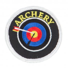 Archery Embroidered Patches