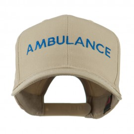 Ambulance Embroidered Cap