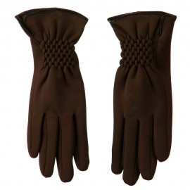 Woman's Faux Fur Lined Acrylic Fiber Glove