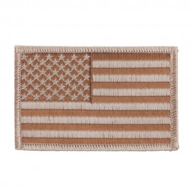 American Flag Patch - Desert