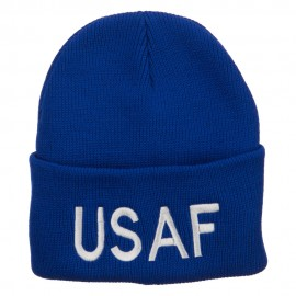 US Air Force USAF Embroidered Long Beanie