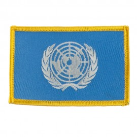 Asia Flag Embroidered Patches - United Nation