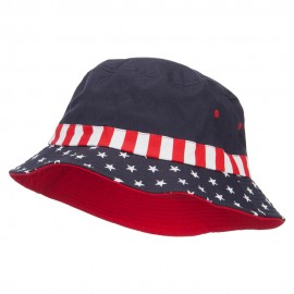 USA Flag Bucket Hat - Flag