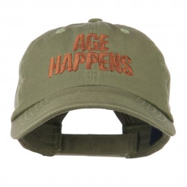 Age Happens Embroidered Cap